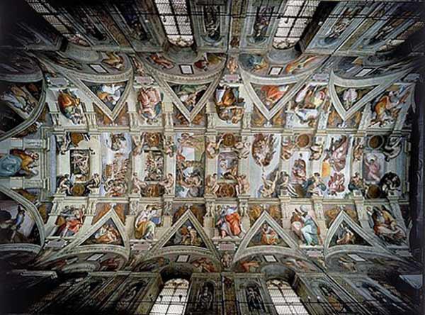 Decke Sixtinische Kapelle