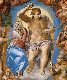 (the Last Judgement -- Christ and Maria part a Sis