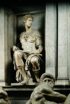Tomb of Giuliano de' Medici (marble) (detail)