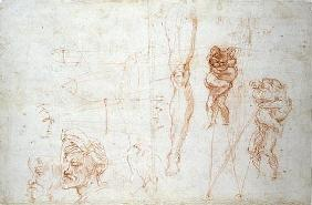 Hercules and Antaeus and other Studies, c.1525-28