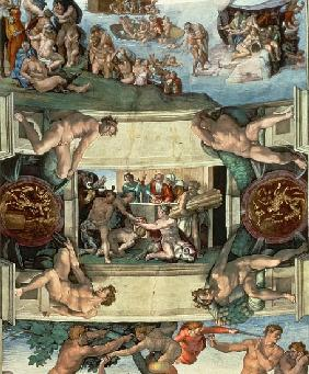 Sistine Chapel Ceiling (1508-12): The Sacrifice of Noah, 1508-10