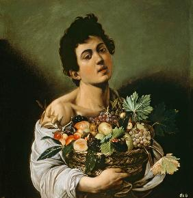 Youth with a Basket of Fruit