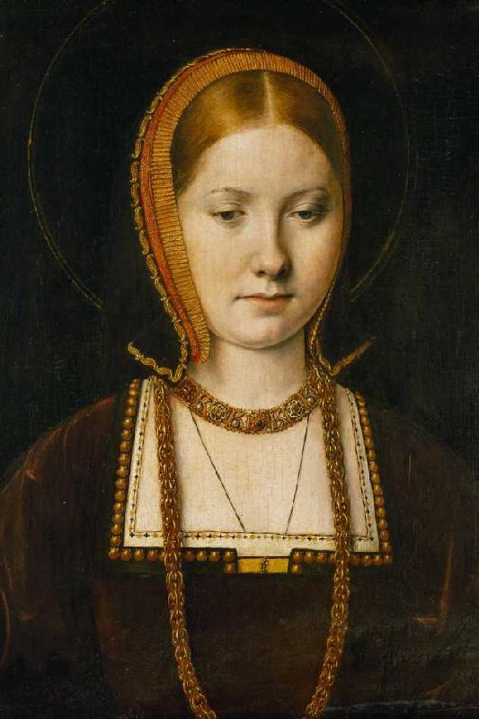 Titulo de la imágen Michiel Sittow - Mary Rose Tudor (1496-1533), - mary_rose_tudor_1496_1533_schw