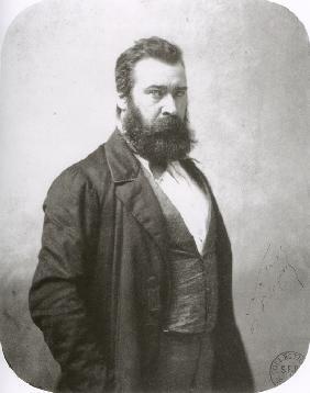 French painter Jean-François Millet (1814-1875)
