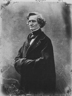 Portrait of Hector Berlioz (1803-1869)