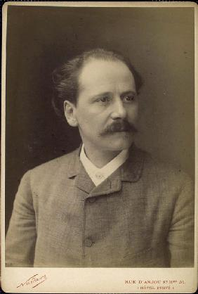 Portrait of Jules Massenet (1842-1912)