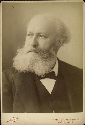 Portrait of the composer Charles Gounod (1818-1893)
