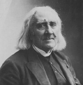 Portrait of the Composer Franz Liszt (1811-1886)