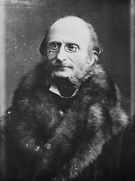 Portrait of Jacques Offenbach (1819-1880)