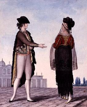 Nobleman and Noblewoman from Madrid
