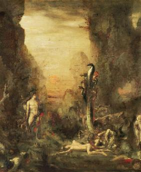 Hercules and the Lernaean Hydra, after Gustave Moreau