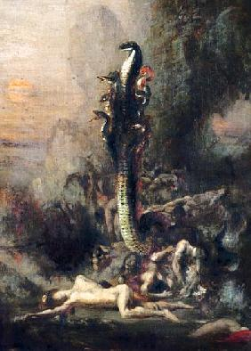Hercules and the Lernaean Hydra, after Gustave Moreau, c.1876 (detail of 226576)