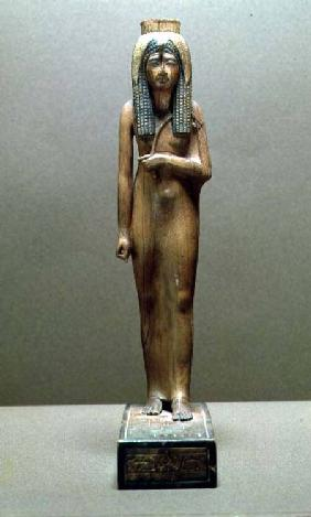 The divine queen Ahmose Nefertari