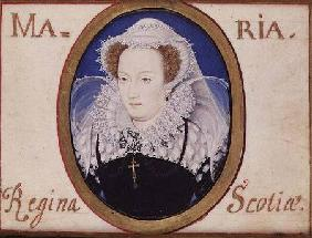 Mary Queen of Scots (1542-87) (miniature