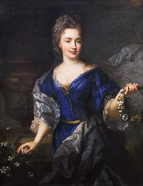 Marie-Anne de Bourbon (1666-1739) Princess of Conti