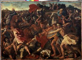 Battle between the Israelites and the Amalekites