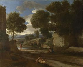 Landscape with Travellers Resting