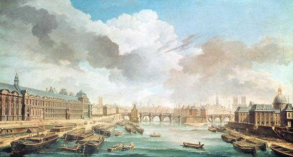 The Louvre, the Pont Neuf and the College des Quatre Nations