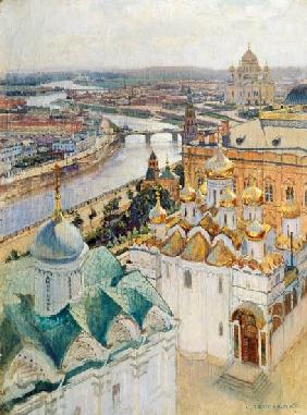 View of Moscow from the Bell Tower of Ivan the Great