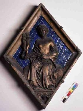 Venus, relief tile from the Campanile