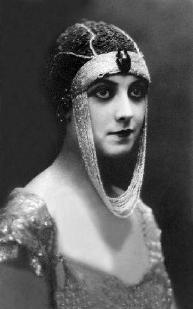 Actress Musidora pseudonym of Jeanne Roques