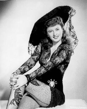 American Actress Barbara Stanwyck