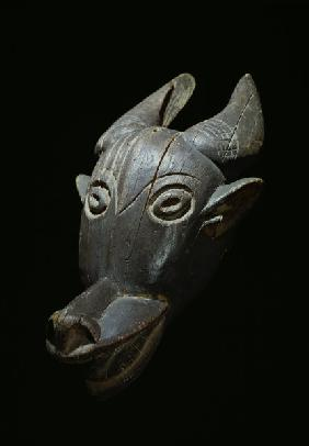 Animal Mask / Bamileke, Gabun / Wood