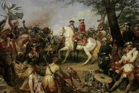 Battle of Fontenoy / H.Vernet