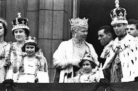 Coronation of English King George VI of England