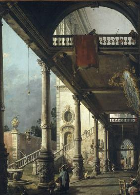 Canaletto / Capricio / Paint./ 1765