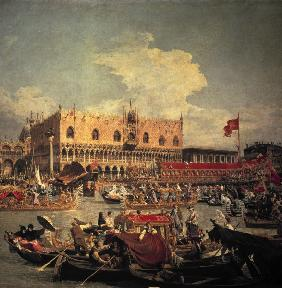 Canaletto / Return of the Bucentaur