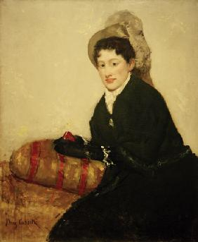 Cassatt / Portrait of Madame X / 1878
