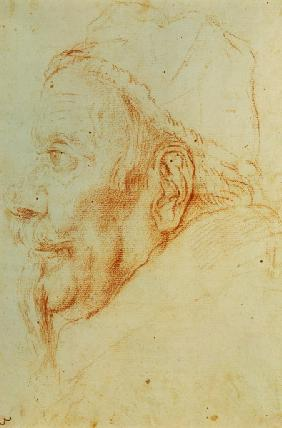 Clement X. Altieri / Drawing by Bernini