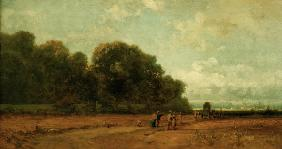 C.Spitzweg, Am Nymphenburger Park
