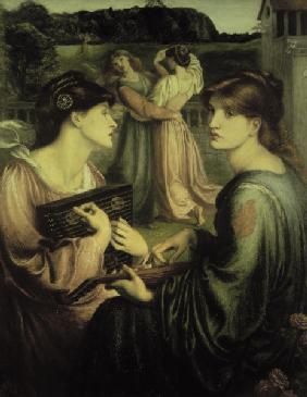 Dante G. Rossetti, Bower Meadow