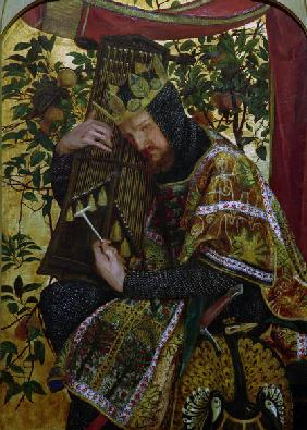 D.G.Rossetti / David as King.