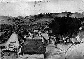 Dürer, View of Village Kalchreuth/c.1495