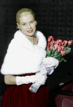 Grace Kelly at Cannes film festival