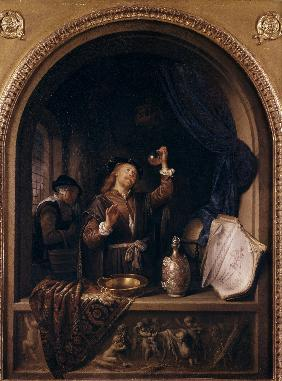 Gerard Dou / The Doctor / 1653