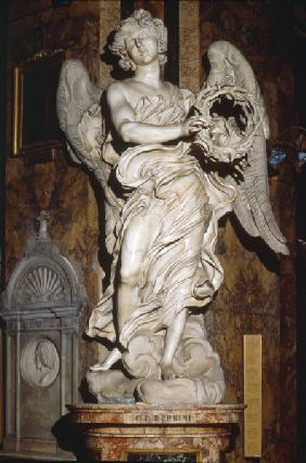 G.L.Bernini / Angel w.t.crown of thorns