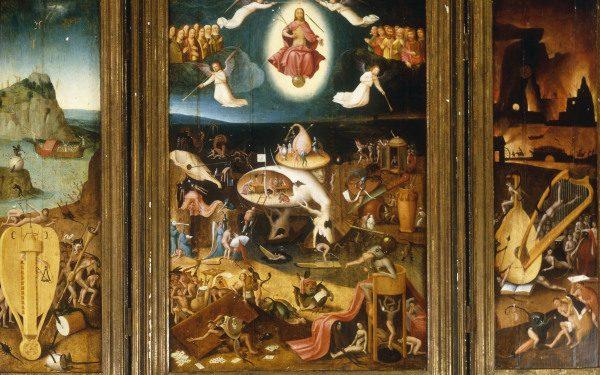 H Bosch The Last Judgement Jer 243 Nimo Bosch O El Bosco En