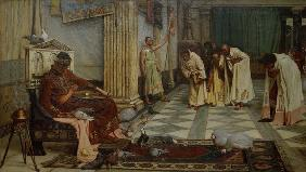 Honorius / Court / Painting / Waterhouse