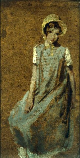 J.Constable, Study of a Girl, 1909.