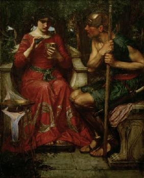 J.W.Waterhouse / Jason and Medea / 1907