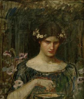 J.W.Waterhouse / Medea / Painting