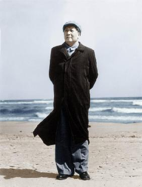 Mao Zedong on A Beach