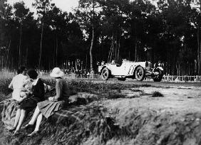 Mercedes-Benz SS in action...