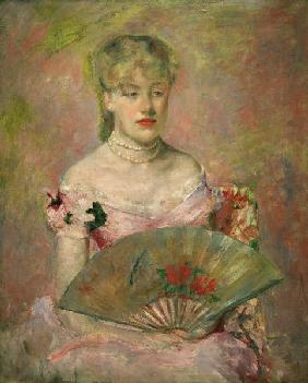 M. Cassatt, A. Ch. Gaillard with Fan.
