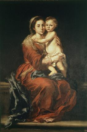 Madonna of the Rosary / Murillo