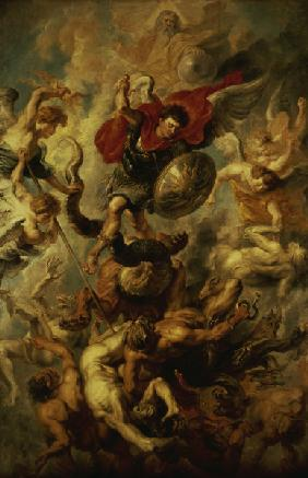 P. P. Rubens / The Fall of the Angels